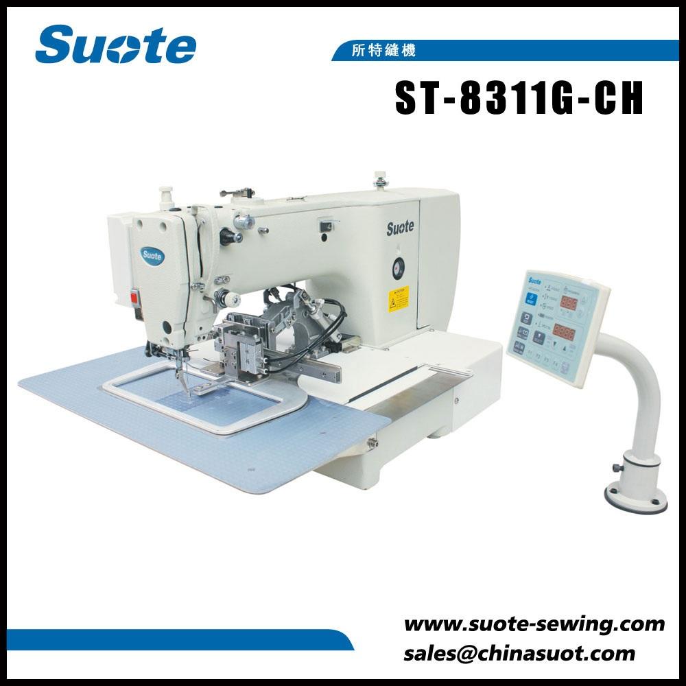 Elektronický štítek šicí stroj