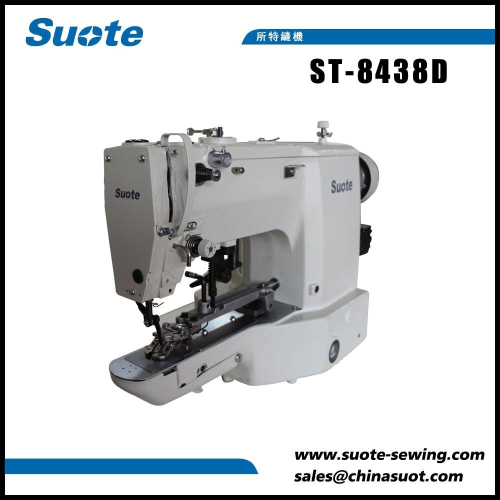 Elektronický šicí stroj pro šití tlačítek
