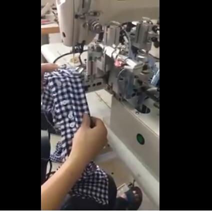 Automatické šití tlačítek